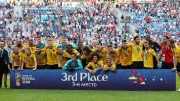 Dünya Kupası 3.'sü Belçika oldu