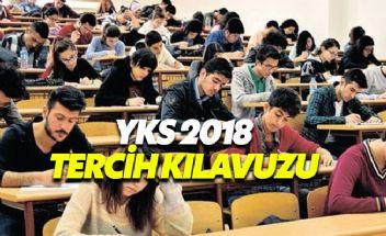 YKS (Yükseköğretim Kurumları Sınavı) 2018 sonuçları ÖSYM ana sayfasında - YKS 2018 Tercih Kılavuzu