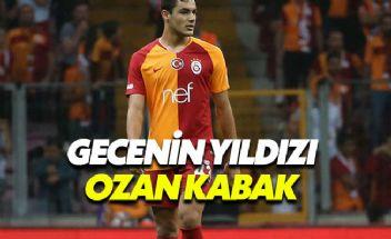 Galatasaray'da gecenin yıldızı Ozan Kabak