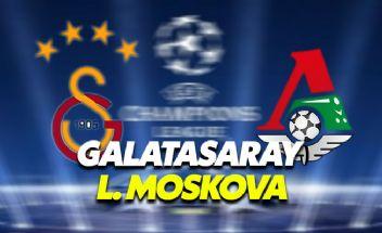 Galatasaray-Lokomotiv Moskova Şampiyonlar Ligi maçı canlı veren kanallar