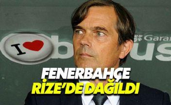 Fenerbahçe taraftarı Rize'de takımı yuhaladı