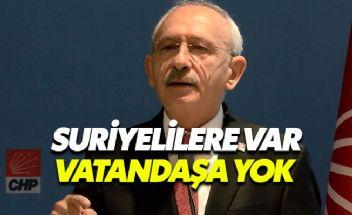 Kılıçdaroğlu'ndan 'çift dikiş' tepkisi: Suriyelilere gelince var emeklilere yok
