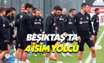 Beşiktaş'ta Şenol Güneş 4 ismin biletini kesti
