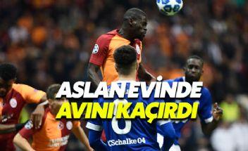 Galatasaray 0-0 Schalke 04 maçı özeti ve önemli pozisyonları