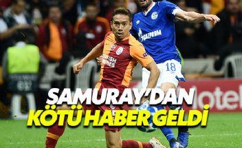 Galatasaray'a Malatyaspor maçı öncesi bir darbe daha