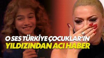 O Ses Türkiye'nin çocuk yıldızı hayatını kaybetti