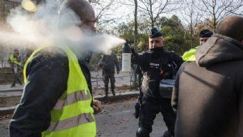 Fransa'da benzin isyanı
