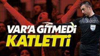 Galatasaray'ı Hüseyin Göçek yaktı maç sonu ortalık karıştı