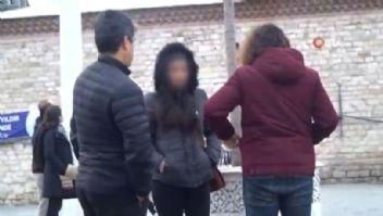 Taksim Meydanında genç kıza ahlaksız teklif