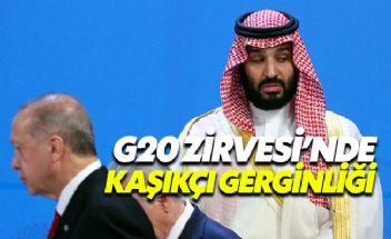 G20'de soğuk rüzgarlar: Erdoğan, Selman'ı görmezden geldi