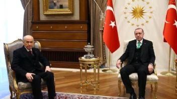 Erdoğan ile Bahçeli bir kez daha görüştü