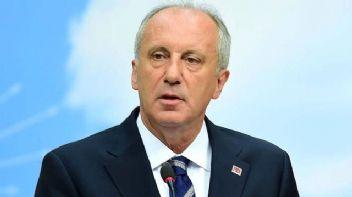 Muharrem İnce'den CHP'ye eleştiri!