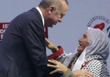 Meliha Demirel nine Erdoğan ile buluştu
