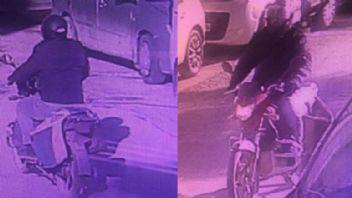 Motosikleti sapık sonunda yakalandı