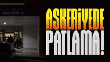 Polatlı'daki asker kışlasında patlama: 5 asker yaralı