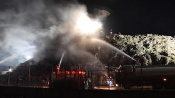 Tekirdağ'da fabrika yangını korkuttu
