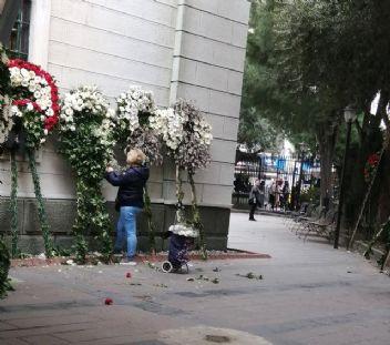 Zafer Çika'nın cenazesinde büyük saygısızlık