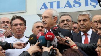 Kılıçdaroğlu'dan Sözcü gazetesine destek