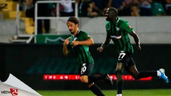 Süper Lig'de ilk gol recep Niyaz'dan