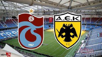 Trabzonspor AEK 0-2 geniş özet izle