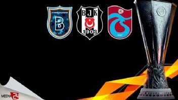 UEFA Avrupa Ligi Beşiktaş Trabzonspor Başakşehir rakipleri