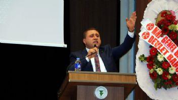 MHP'li Sadir Durmaz: 'Milliyetçiler olmasa Türkiye bölünmüştü'