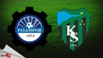 Payasspor Kocaelispor Canlı izle 1 Eylül 2019