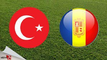 Türkiye Andorra TRT 1 canlı İZLE