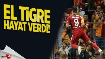 Falcao Galatasaray'a hayat verdi: 1-0
