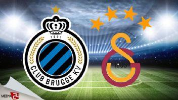 Club Brugge Galatasaray maçı ne zaman saat kaçta hangi kanalda?