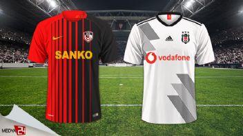 Gazişehir Gaziantep Beşiktaş 3-2 Geniş Özet izle