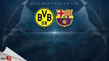 Borussia Dortmund Barcelona maç özeti izle 0-0
