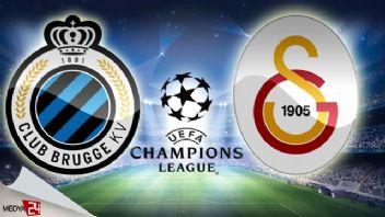 Club Brugge Galatasaray şifresiz CBC Sport canlı izle