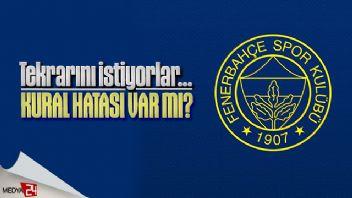 Alanyaspor Fenerbahçe maçı tekrar edilecek mi