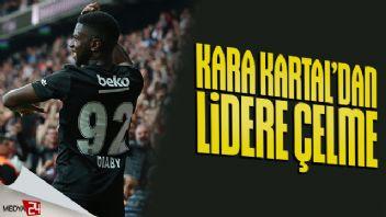 Beşiktaş lider Alanya'yı devirdi! 2-1