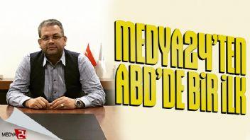 Medya24 TV yakında ABD'de de yayında!