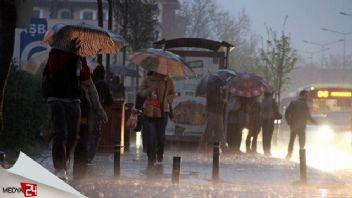 İstanbul'da yağmur yoğunluğu