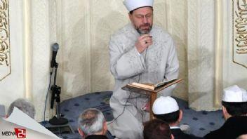 Hacı Bayram Camii'nde Mehmetçiklere dua