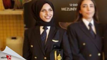 THY'nin ilk başörtülü pilotu Fatma Durmuş