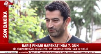 Kenan İmirzalıoğlu'dan operasyona destek