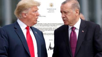 Trump Erdoğan'a memnuniyetini iletti