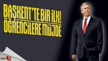 Ankara'da öğrencilere müjdeli haber!