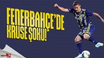 Fenerbahçe'ye Kruse'den kötü haber!