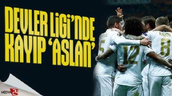 Galatasaray Devler Ligi'nde kayıp: 0-1