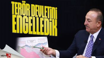 Mevlüt Çavuşoğlu: Terör devletini engelledik