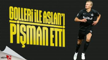 Erling Haland Galatasaray'ı pişman etti!