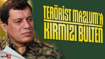 Terörist Mazlum Kobani hakkında kırmızı bülten