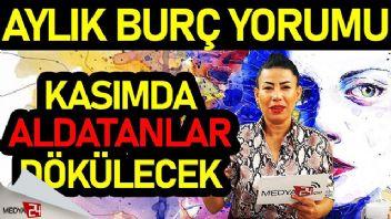 2019 Kasım Aylık Burç Yorumları Nurcan Vecigün