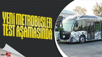 İstanbul'da yeni metrobüsler 280 kişi kapasiteli