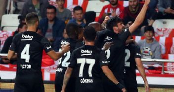 Beşiktaş 195 gün sonra deplasmanda galip